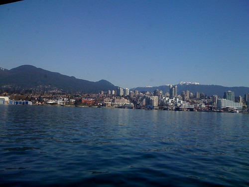 On the way to North Vancouver
