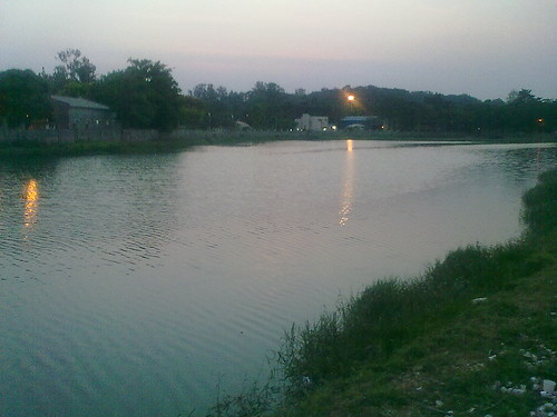 Bagmane Lake - In the evening