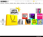 Selfridges.com Homepage