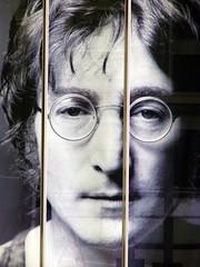 Giant John Lennon Poster (Mule67) Tags: japan museum john tokyo beatles saitama lennon