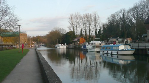 River Medway at Allington Locks,Kent
