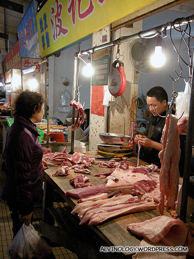 Another butcher stall