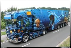 "Scania R TL ""Herpa Truck 9"" (uslovig) Tags: ocean fish truck fisch camion oceans hai airbrush scania lastwagen rtl lkw ozean herpa ozeane"