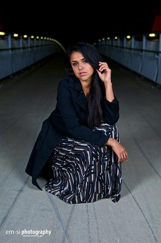 Shirley @Friedensbrücke
