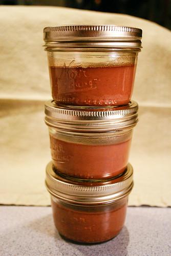 Pots de Creme in a Jar