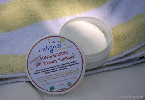 """indigo baby """"sun is shining"""""""