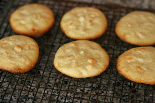Lime White Chocolate Cookie Recipe