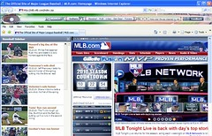 Baseball Browser Theme