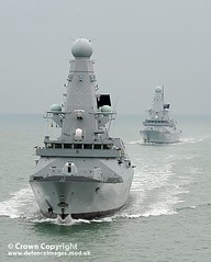 Type 45 Destroyers HMS Daring & HMS Dauntless