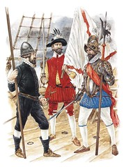 Spanish Empire (cool-art) Tags: españa king ship flag military armada spanish militar empire sword armour caravel espada espanhois soldados armoured guerras