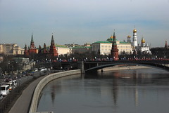 Moscow River with the Kremlin in background