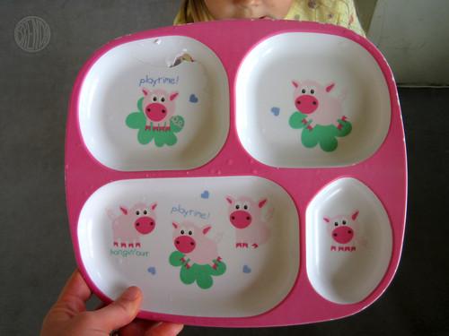 RIP Piggy Plate