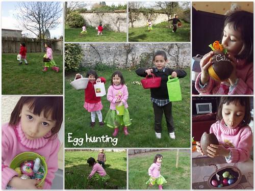 egg hunting @Jules