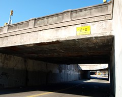 M073 West 152 Street Bridge over Adam Clayton Powell Jr. Boulevard, Harlem, New York City (jag9889) Tags: city nyc bridge ny newyork puente boulevard crossing harlem manhattan bridges dot bin ponte pont brcke 2010 departmentoftransportation adamclaytonpowelljr 7avenue y2010 bridgeidentificationnumber w152street 2246490 m073 jag9889