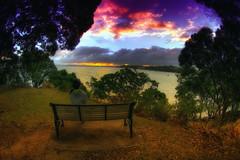 Auckland Sunset (/\ltus) Tags: sunset newzealand pentax auckland handheld hdr k7 5xp