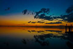 Sunset over the bay (Newcastle Photography) Tags: belmont lakemacquarie squidsink