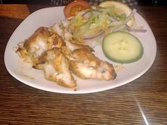Fish tikka at Kebabish Original, Dalry Road