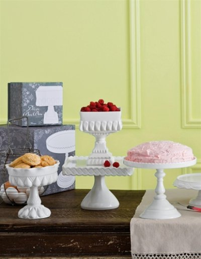bon bon cake plates