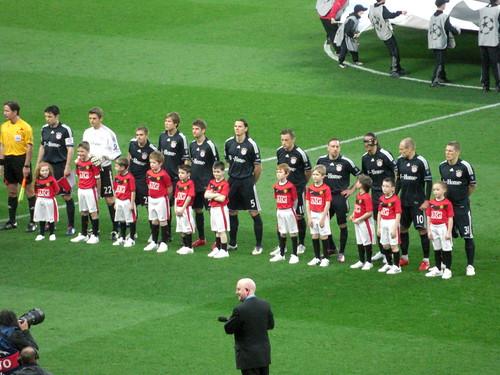 Die Spieler des FC Bayern
