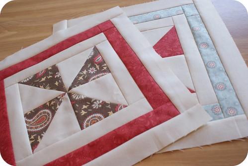 pinwheel sampler quilt along: block seven.