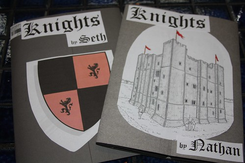 Knights Lapbook Covers