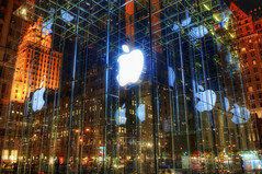 The Incredible Apple Store (Stuck in Customs) Tags: world new york city nyc newyorkcity travel november light usa ny newyork reflection building apple glass retail architecture digital america computer underground logo photography design blog store high mac nikon neon ipod dynamic stuck united north 5thavenue computers icon east electronics computing processing imaging states fifthavenue northeast range iconic 2009 hdr tutorial trey travelblog customs geniusbar iphone flagship ipad ratcliff hdrtutorial stuckincustoms d3x treyratcliff stuckincustomscom
