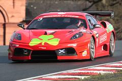 Ferrari 430 Scuderia (oldeyes47) Tags: 3 ferrari autoracing scuderia motorracing motorsport autosport oultonpark britishgt
