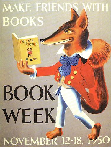 1950_book week posters