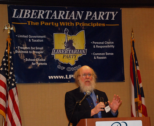 An Excellent State Libertarian Party Banner - LPOhio