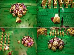 Grass Plains Hero (ACPin) Tags: toys star starwars lego wars 300 diorama spartan moc jarjar theed battledroids gungan acpin