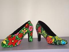 Sapatos (Oficina de Papel Mach) Tags: shoes papel papier mache papiermache sapato papelmache beatrizpetraru petraru biapetraru