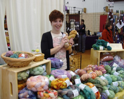 gwen at knitter's fantasy