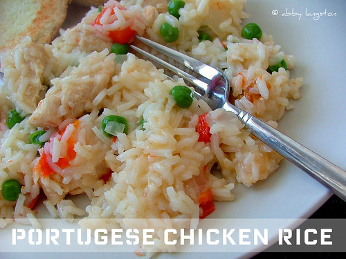 Portugese Chicken Rice