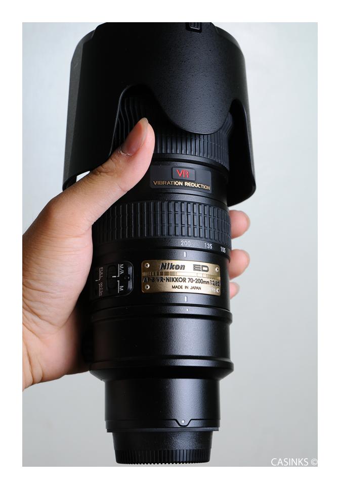 Nikkor 70-200 f/2.8 VR