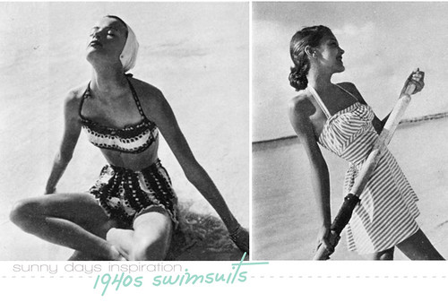 04.21.10 {40s beachwear inspiration}