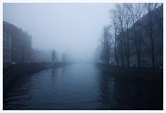 136 (AnkhaiStenn) Tags: morning white mist tree water saint fog river canal smog russia wave petersburg russian
