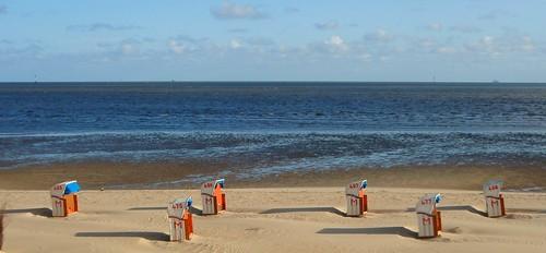 Fr�hling in Cuxhaven