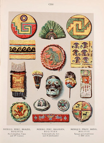 032- Mexico-Peru-Brasil-Bolivia epoca Precolombina-Ornament two thousand decorative motifs…1924-Helmuth Theodor Bossert