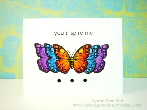 Copic Butterflies (7)