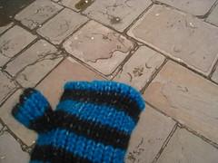 馬上買了手套