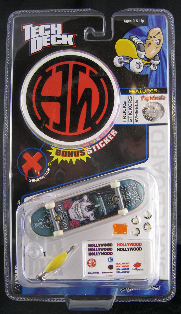 Tech Deck_Kris Markovich
