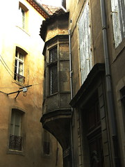 Reflected Light (Annie in Beziers) Tags: windows france architecture ancient medieval explore shutters streetscenes bziers annieinbziers gettyimagesfranceq1