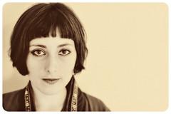 Silent Screen Sara (Donavan) Tags: portrait canon vintage sara 5d ameliepoulain silentscreen keepcalmcarryon