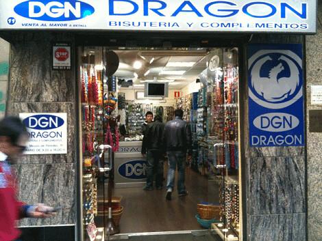 Un establecimiento chino en España
