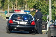 SAN DIEGO POLICE DEPARTMENT (SDPD) OFFICER (Navymailman) Tags: san traffic police diego pd sd stop cop department officer sdpd