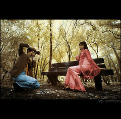 cheers.............. (yoga - photowork) Tags: portrait people tree love indonesia lens ir couple canon350d infrared romantic 1022mm prewedding digitalinfrared skintone infraredphotography inspiredbylove hallofframe trasognoerealta