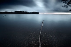``/* (Mikko Lagerstedt) Tags: longexposure blue light shadow red cloud lake storm abstract col