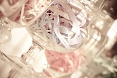 Decorazione vasi (AliceRedCoat) Tags: candy sweet confetti sweets buffet candies matrimonio dolci caramelle