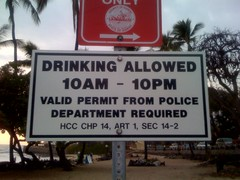 Drinking Allowed