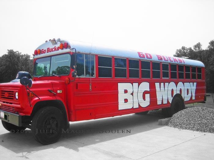 Old school bus becomes OSU fan bus called Big Woody